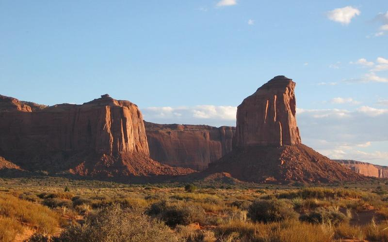 Monument Valley, Arizona - Fall 2004, photo by Dave O'Brien
