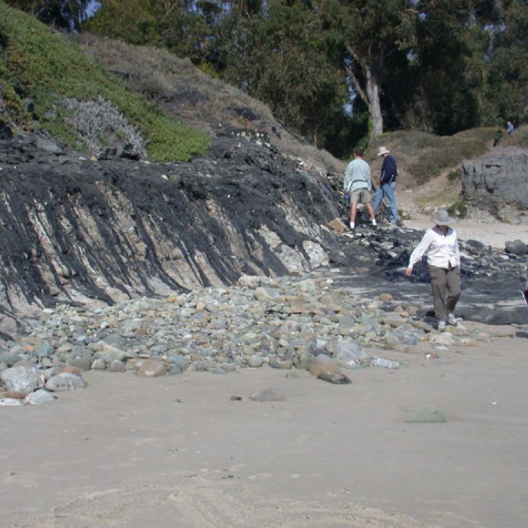 We eventually reached our furthest north of Carpinteria Beach, near Santa Barbara.