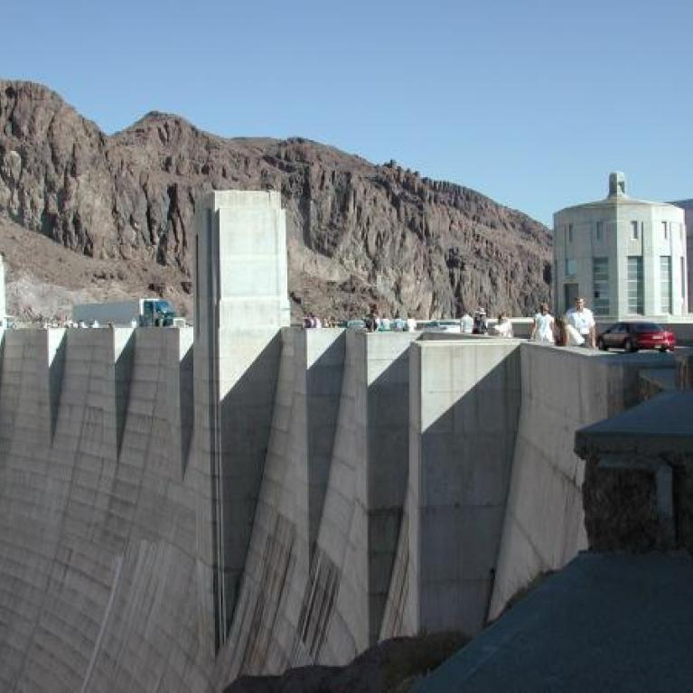 Day 2. Erich told us about the history of Hoover Dam.