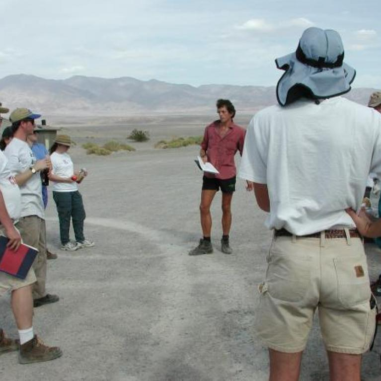 Matt told us about the evolution of the Desert Pupfish, which don't get nearly as much attention as Galapagos Finches.