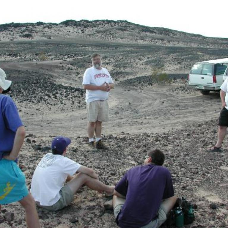 Dave regaled us with tales of vast glaciers sweeping across the southwest. We didn't believe him.