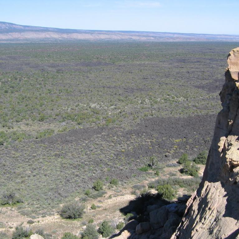 El Malpais lava flow, New Mexico