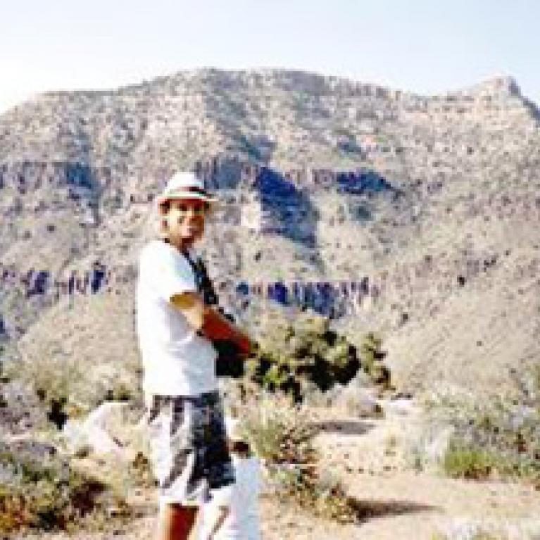 Erik at Salt River Canyon, not tubing.