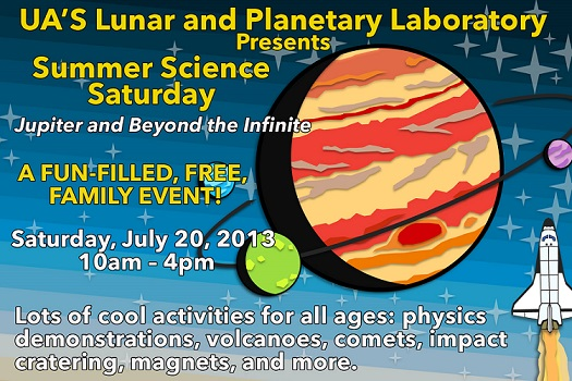 Summer Science Saturday - Jupiter and Beyond the Infinite