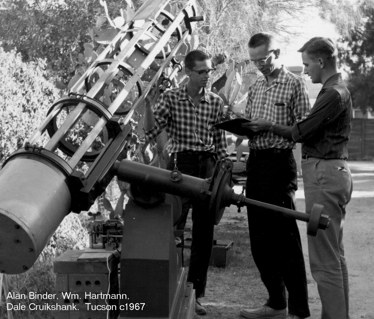 The Early Days | Lunar and Planetary Laboratory | The ...