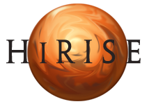 High Resolution Imaging Science Experiment (HiRISE) logo
