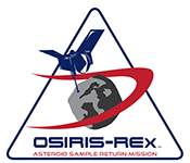 Origins, Spectral Interpretation, Resource Identification, Security, Regolith Explorer (OSIRIS-REx) logo