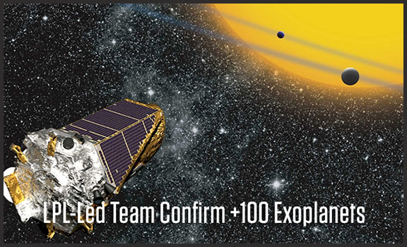 UA-Led Team Confirms 100+ Exoplanets Via Kepler