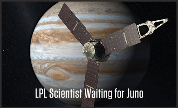 UA Planetary Scientist Waiting for Juno
