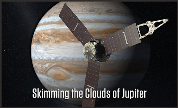 Skimming the Clouds of Jupiter