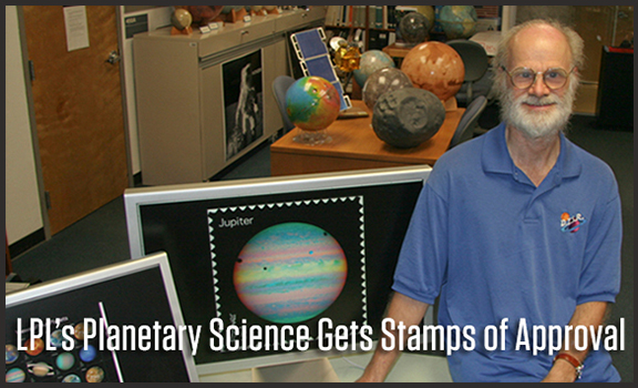 UA Planetary Science Gets Stamps of Approval