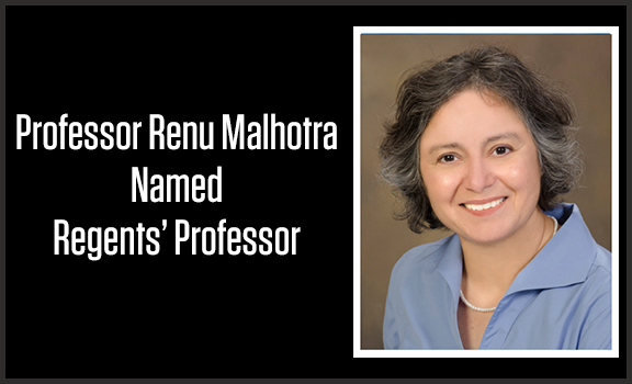 Malhotra Named Regents' Professor