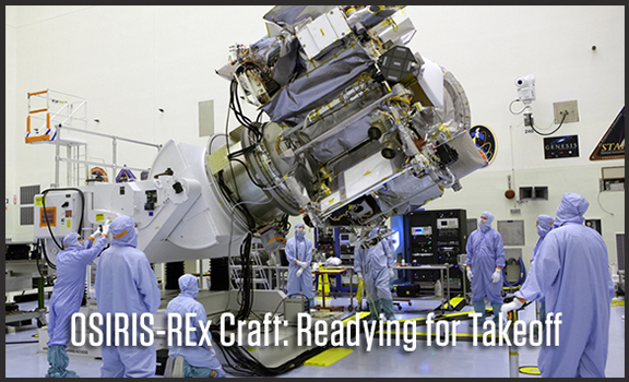 Readying for Takeoff: OSIRIS-REx Craft Is Being Put to the Test