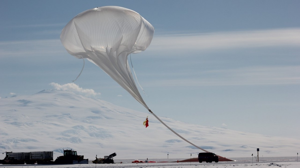 Christopher Walker's team successfully launched the Stratospheric Terahertz Observatory,