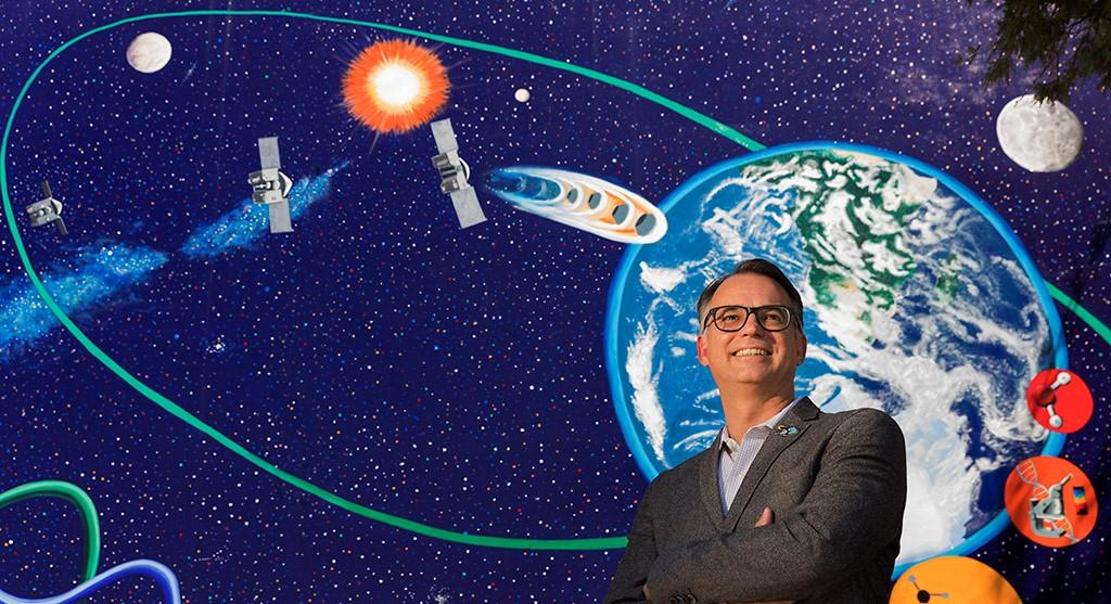 """The UA's Dante Lauretta: """"The work done on CAESAR will ensure that the UA continues to stand at the forefront of extraterrestrial sample analysis for the next 20 years."""""""