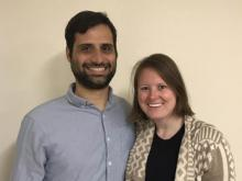 Dr. Michael Sori and Ali Bramson, Postdoctoral Scholars in the Lunar and Planetary Laboratory at the