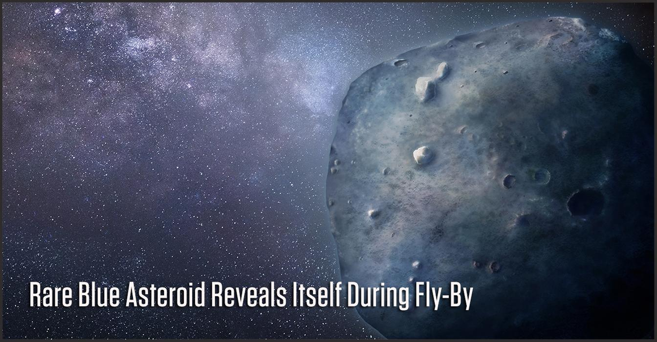 A team led by UA doctoral student Teddy Kareta obtained a rare glimpse of the bizarre, blue asteroid that is responsible for Geminid Meteor Shower