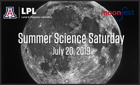 2019 Summer Science Saturday on July 20