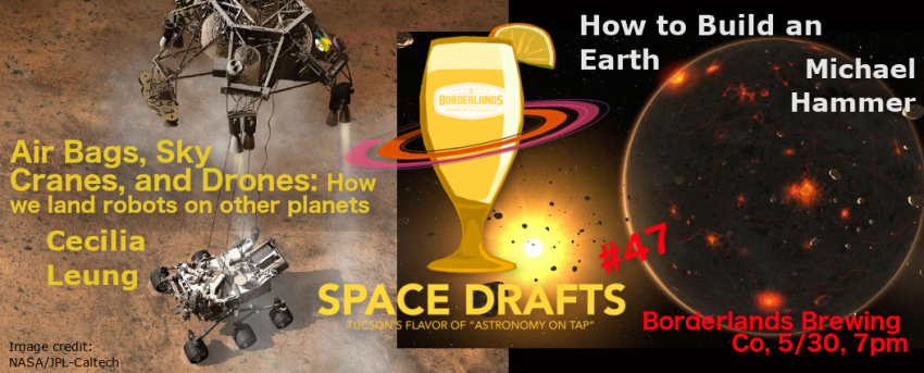 Space Drafts on May 30, 2018 at Borderlands Brewing