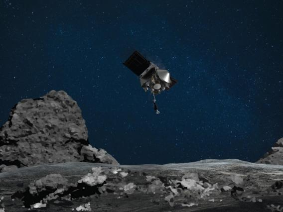 During its final practice run in preparation for sample collection at asteroid Bennu, the OSIRIS-REx spacecraft approached the surface closer than ever before.
