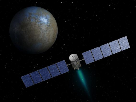 Dawn is a Discovery class mission that will improve our understanding of our asteroid belt by mapping the two largest residents, Vesta and Ceres.