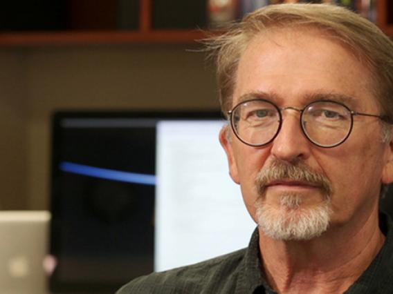 """The UA's Ed Beshore says the OSIRIS-REx mission """"represents a turning of the corner for planetary exploration by the United States."""" (Photo: Bob Demers/UANews)"""