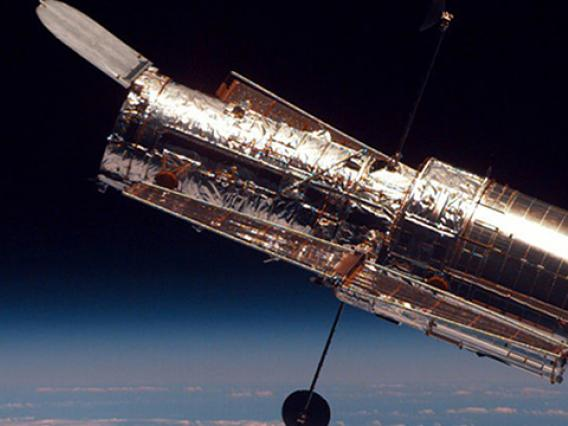Picture of NASA's Hubble Space Telescope.