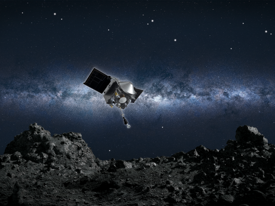 NASA's UArizona-led OSIRIS-REx mission is the agency's first attempt to bring back a sample from an asteroid.NASA