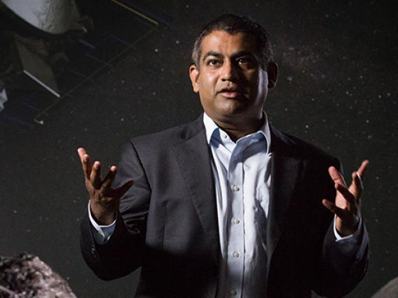 "Vishnu Reddy: ""The question is: How prepared are we for the next cosmic threat?"" (Photo: Bob Demers/UANews)"