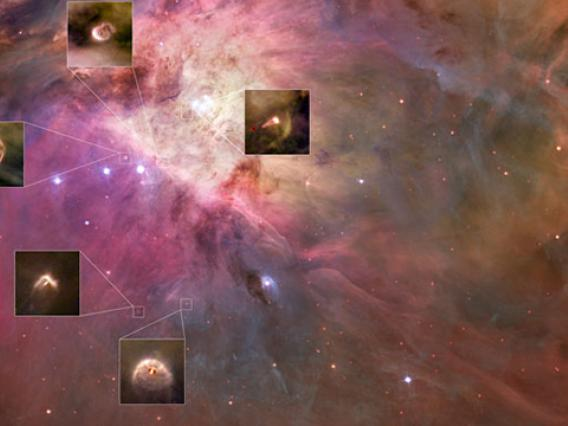 Planet-Forming Disks May Resemble Solar System 5 Billion Years Ago