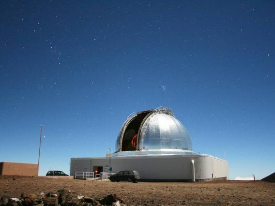 In addition to supporting a variety of NASA planetary missions, NASA's Infrared Telescope Facility on Maunakea on the Big Island of Hawaii is also used to determine the composition of near-Earth objects. Credits: University of Hawaii Institute for Astronomy / Michael Connelley