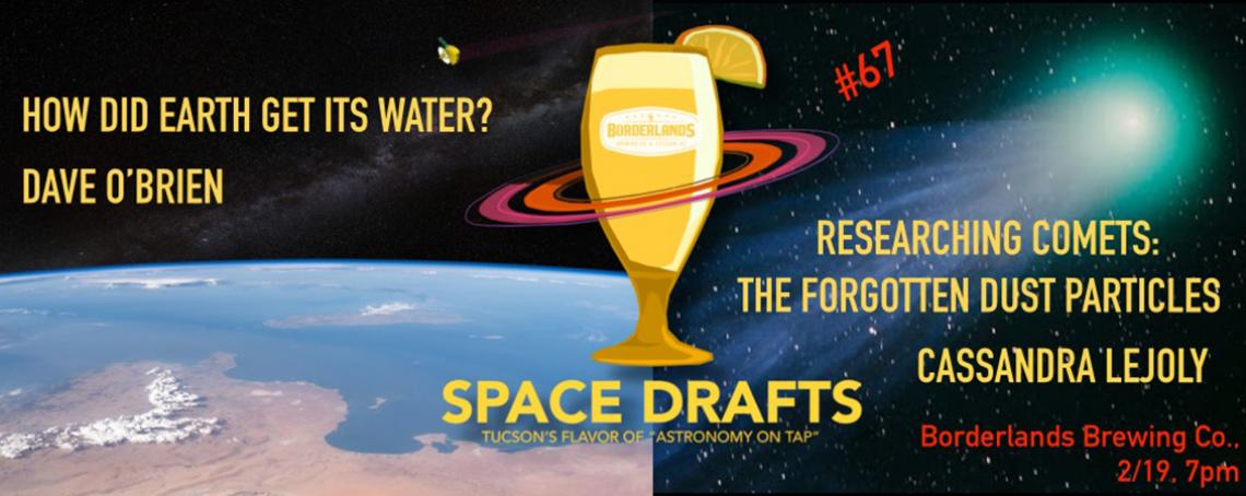 Space Drafts on February 19, 2020 - Dave O'Brien and Cassandra Lejoly at Borderlands Brewing Co.